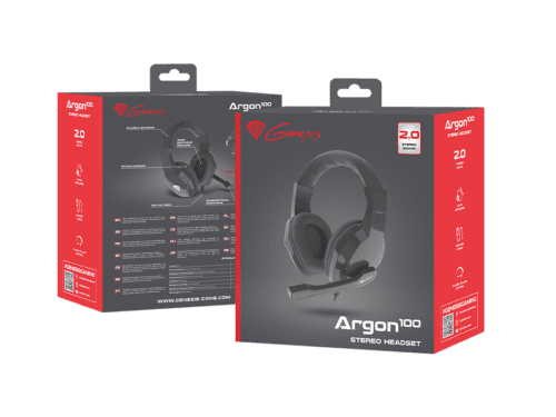 Genesis Argon 100 Zwart - 4
